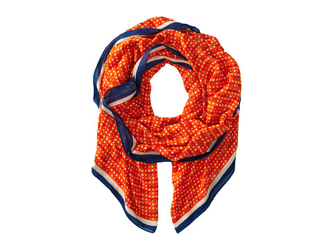 Marc by Marc Jacobs - Perf-Ection Scarf (Orange Glow Multi) Scarves