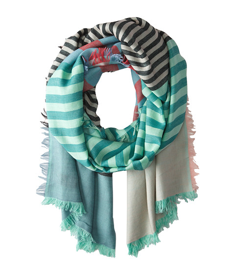 Marc by Marc Jacobs - Home Stripe Scarf (Desert Bloom Multi) Scarves