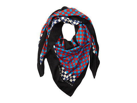 Marc by Marc Jacobs - Don't Panic Scarf (Red Pepper Multi) Scarves
