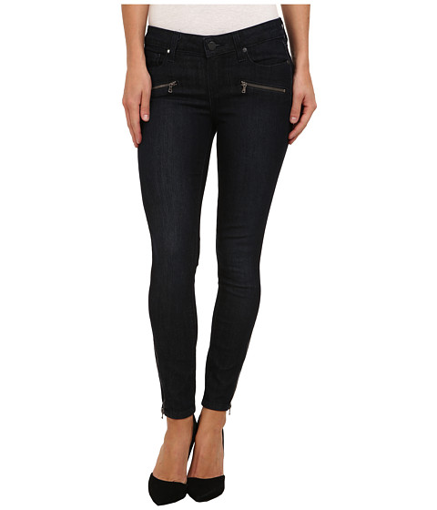 Paige - Jane Zip Ultra Skinny in Lesley No Whiskers (Lesley No Whiskers) Women