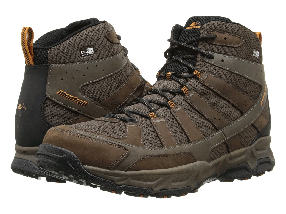 Montrail - Fluid Enduro Mid Leather Outdry (Cordovan/Bright Copper) Men's Hiking Boots