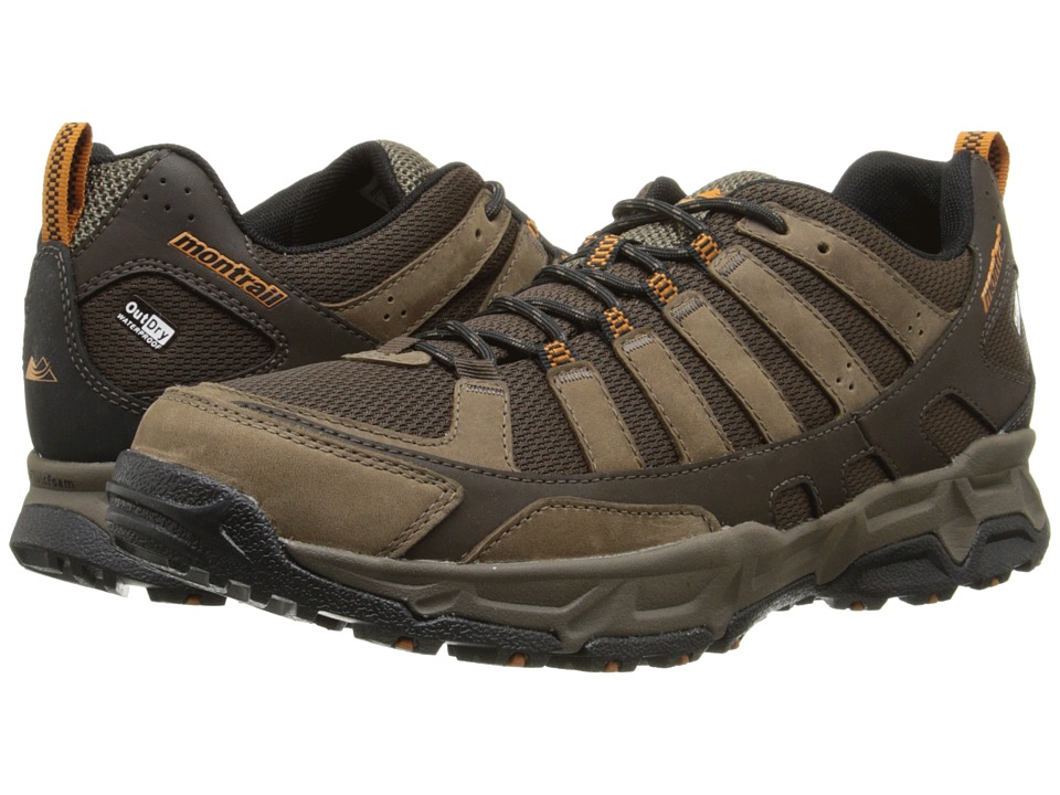 Montrail - Fluid Enduro Leather Outdry (Cordovan/Bright Copper) Men's Shoes