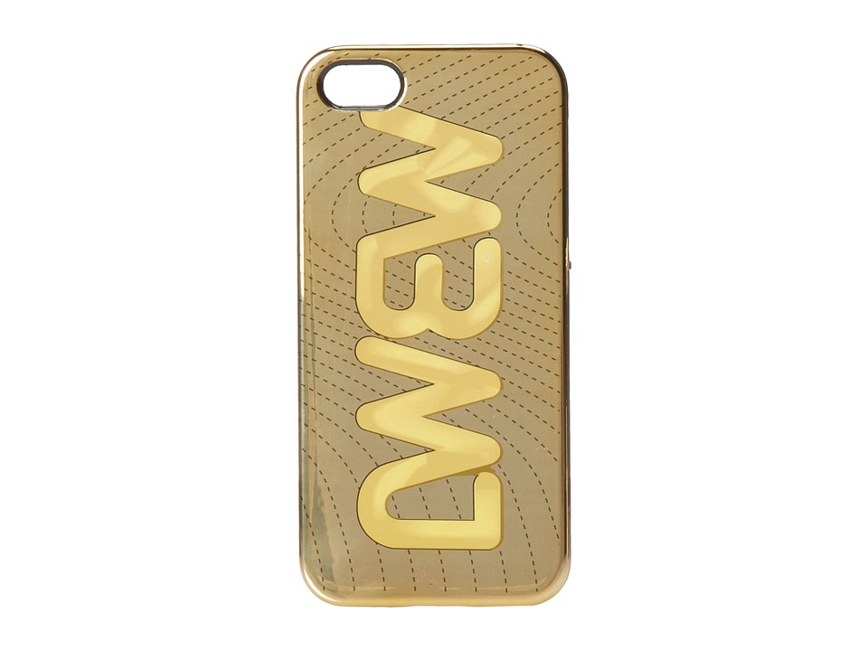 Marc by Marc Jacobs - Case for Iphone 5 MBMJ Metallic Quilted (Gold Multi) Cell Phone Case