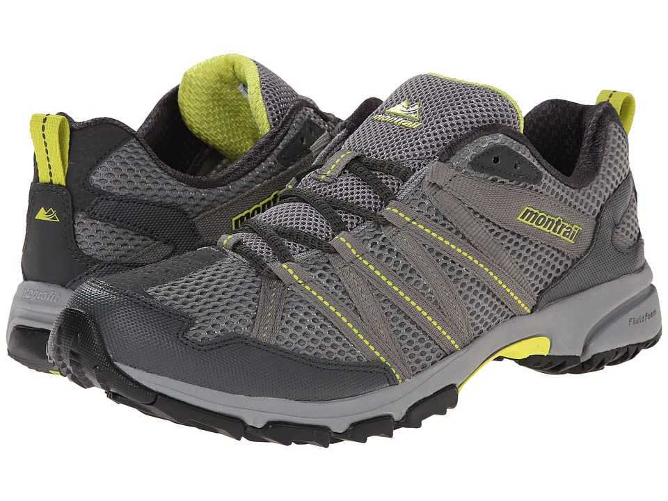Montrail Mountain Masochist III (Light Grey/Chartreuse) Men