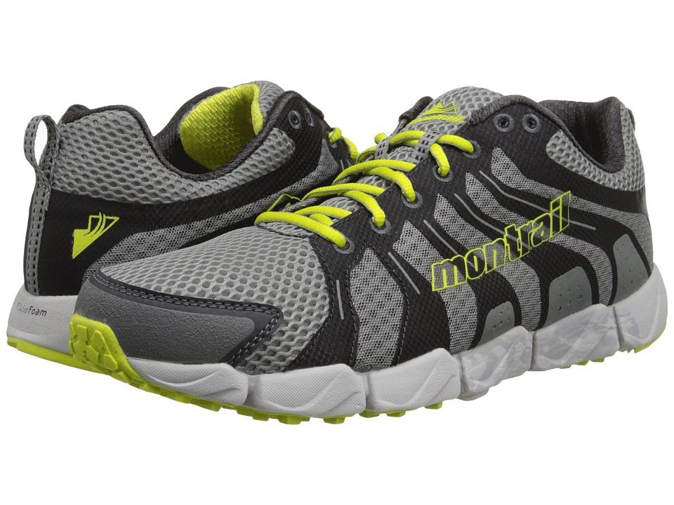 Montrail - Fluidflex ST (Columbia Grey/Chartreuse) Men's Shoes