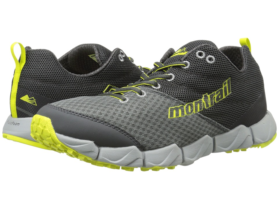 Montrail - Fluidflex II (Quarry/Chartreuse) Men's Shoes