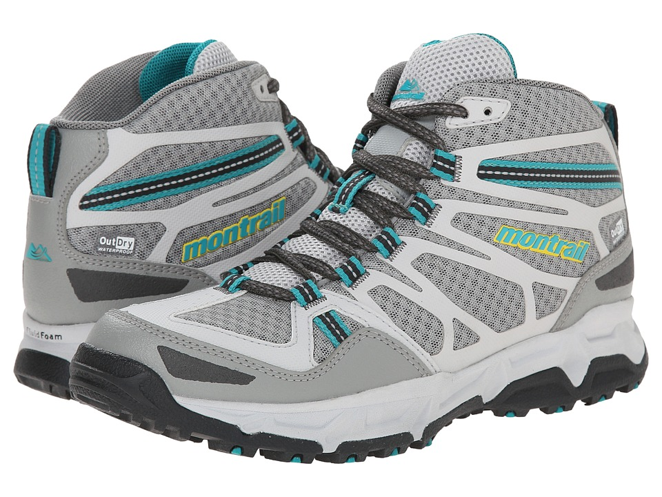 Montrail - Fluid Fusion Mid Outdry (Platinum/Cool Grey) Women's Shoes