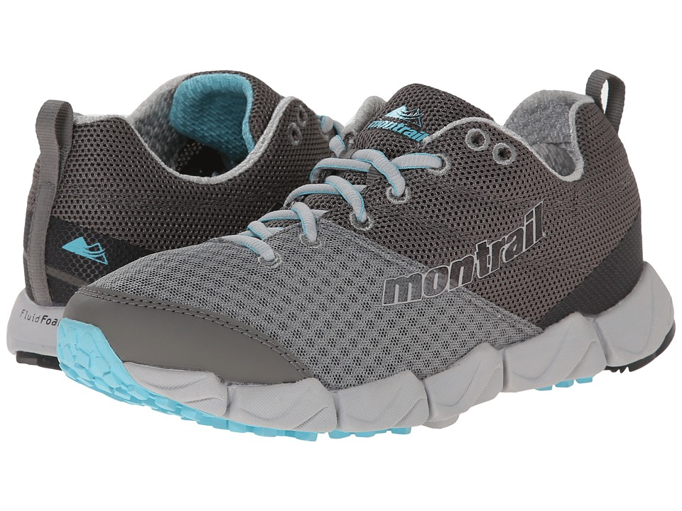 Montrail - Fluid Fusion (Platinum/Cool Grey) Women