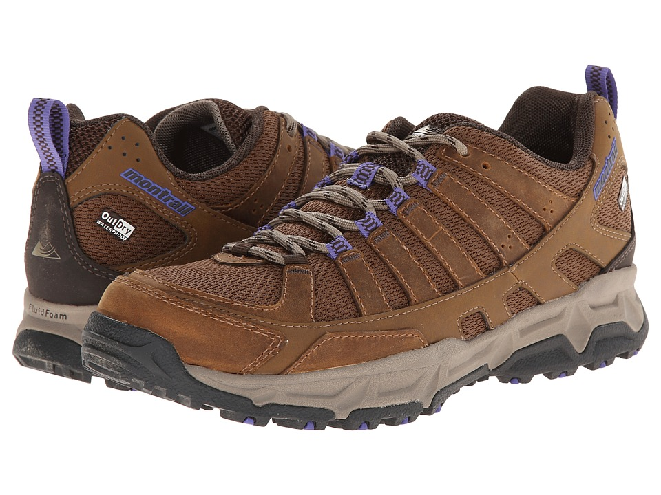 Montrail - Fluid Enduro Leather Outdry (Autumn Bronze/Cordovan) Women