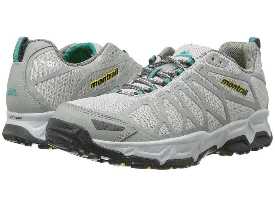 Montrail - Fluid Fusion Outdry (Cool Grey/Platinum) Women