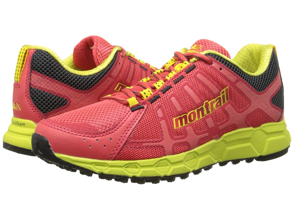 Montrail - Bajada II (Red Hibiscus/Chartreuse) Women's Shoes