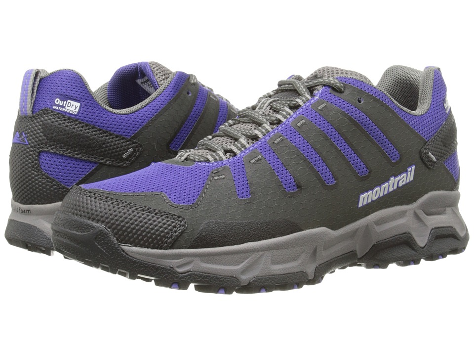 Montrail - Fluid Enduro Outdry (Grill/Purple Lotus) Women's Shoes