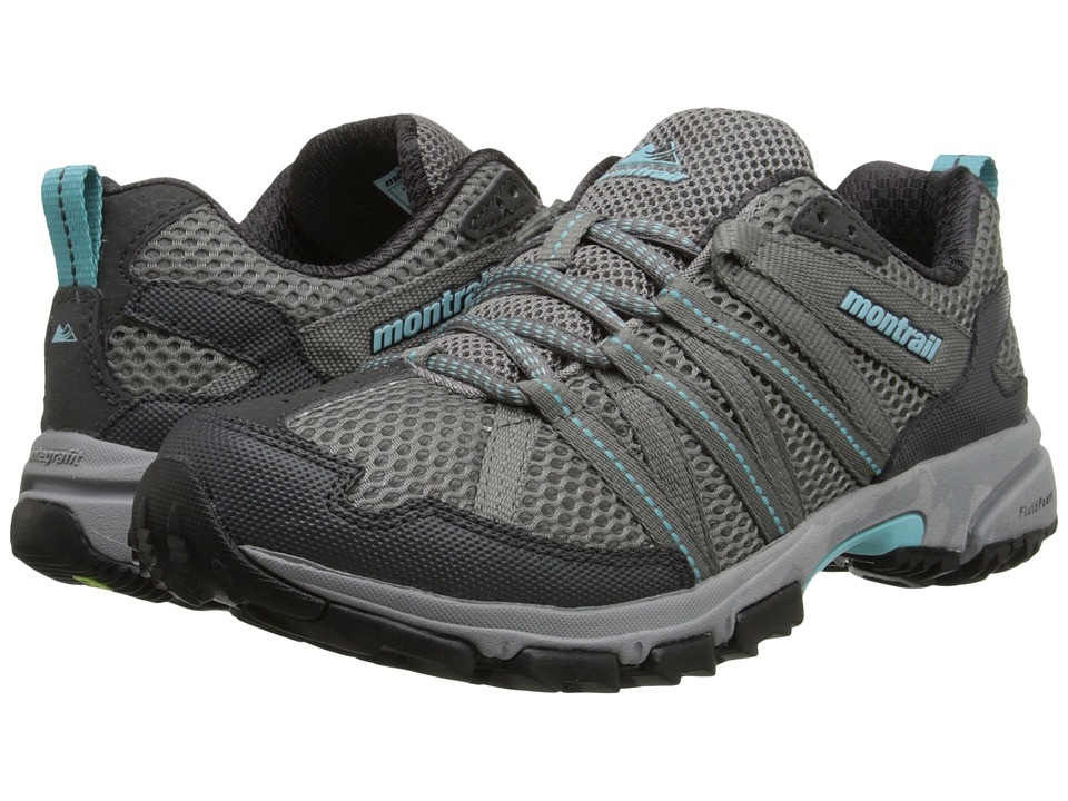 Montrail - Mountain Masochist III (Light Grey/Clear Blue) Women