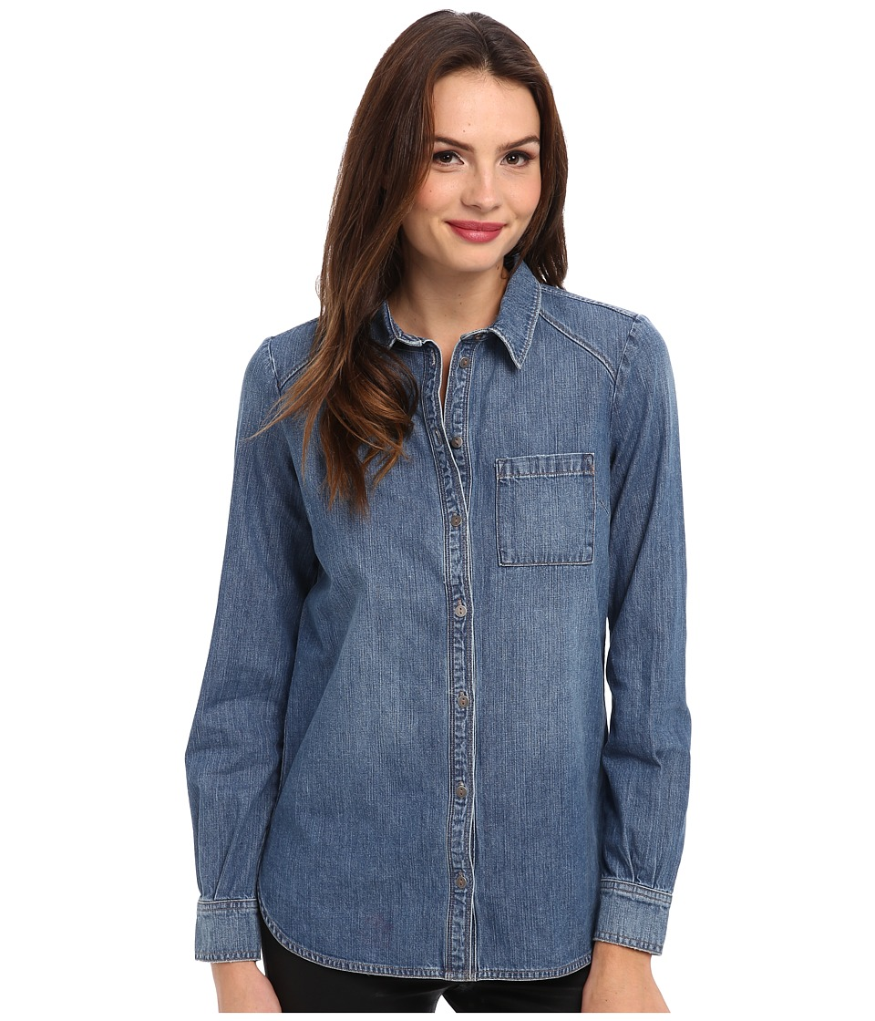 Paige - Eden Shirt (Andre) Women's Long Sleeve Button Up