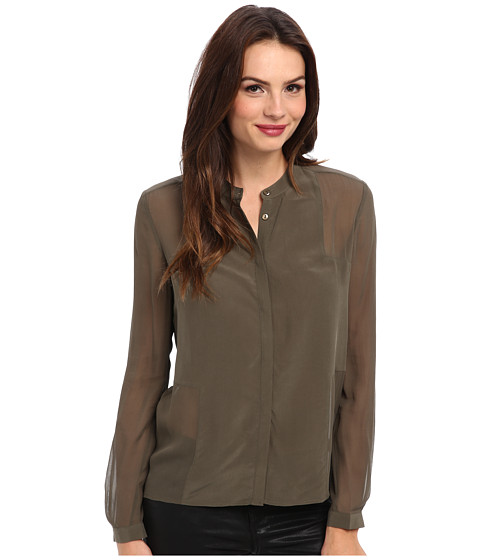 Paige - Evelyn Shirt (Olive) Women