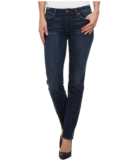 Paige - Kelsi Straight in Darby Destructed (Darby Destructed) Women's Jeans