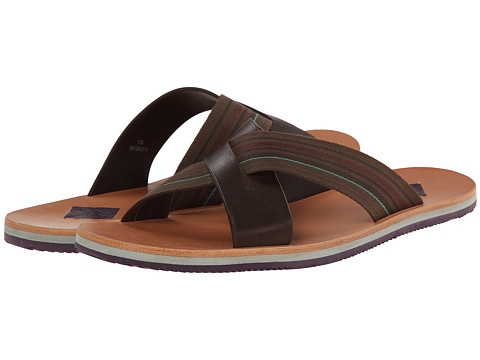 Paul Smith - Jeans Kohoutek Sandal (Dark Brown) Men's Sandals