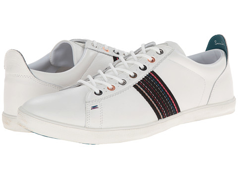 Paul Smith - Jeans Osmo Sneaker (White) Men's Shoes