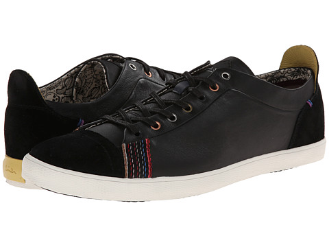 Paul Smith - Jeans Vestri Sneaker (Black) Men's Shoes