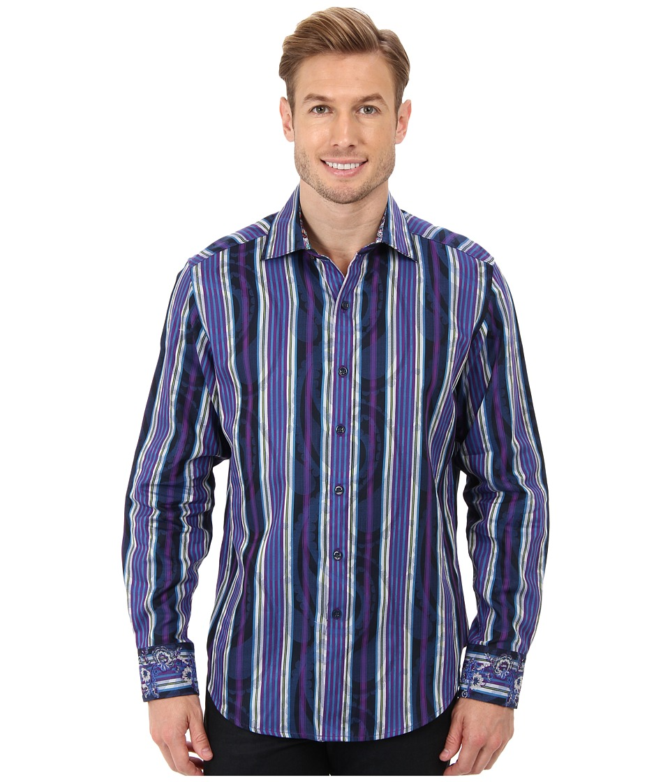 Robert Graham - Mott L/S Woven Sport Shirt (Multi) Men's Long Sleeve Button Up