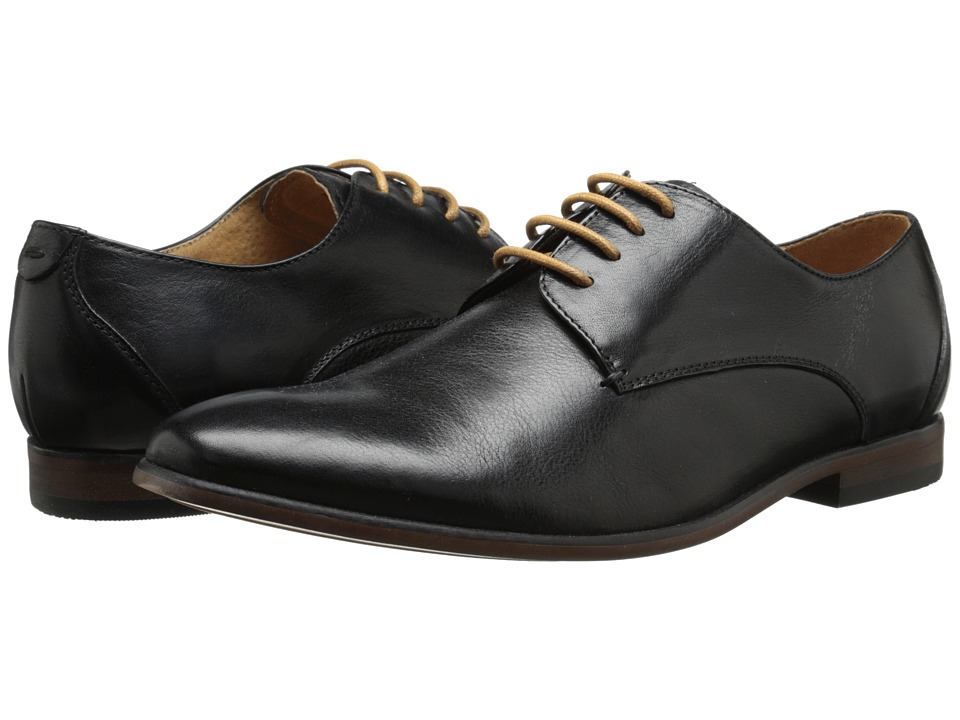Steve Madden Trotter (Black Leather) Men