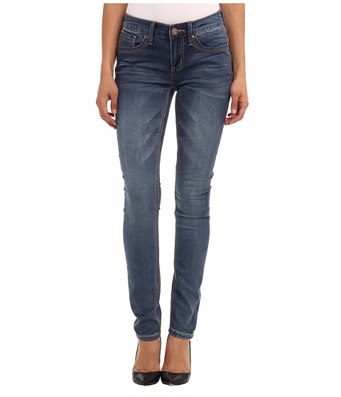 Seven7 Jeans Skinny Knit Denim in Jolt Blue (Jolt Blue) Women's Jeans
