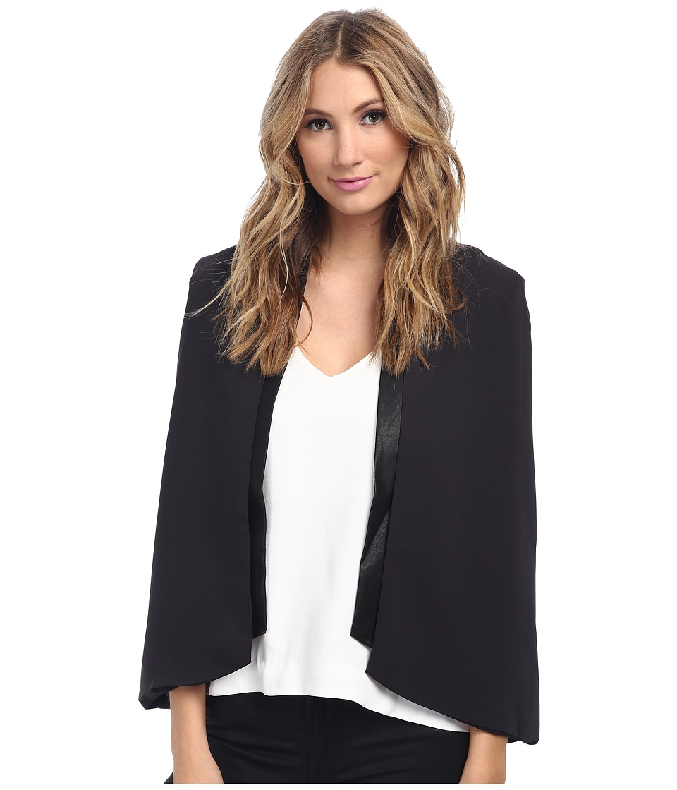 StyleStalker - Bloomer Cape (Black) Women's Clothing