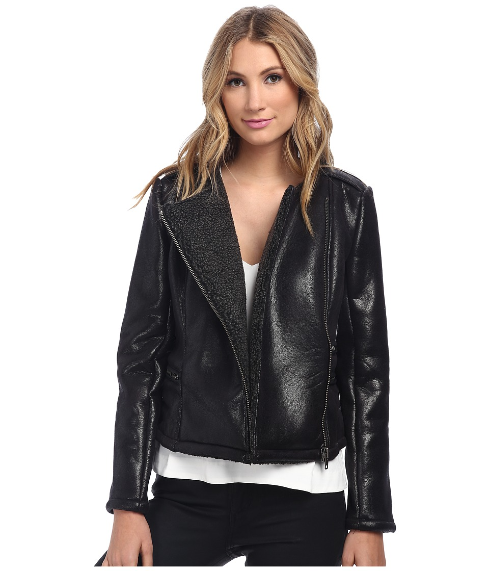 StyleStalker - Lifes A Beach Jacket (Black) Women's Jacket