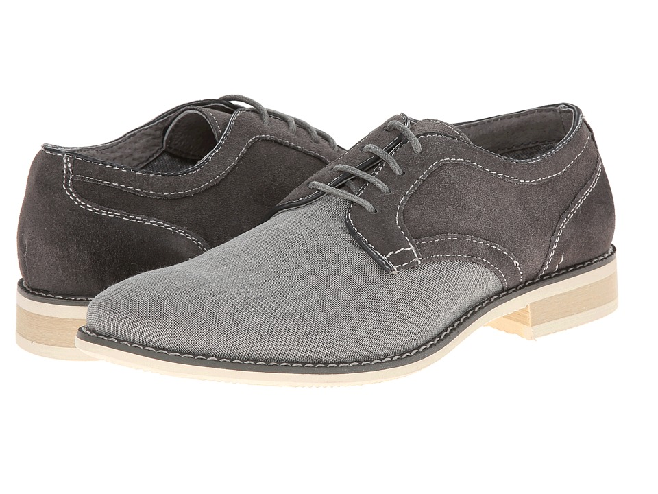 Steve Madden - Sojourn (Grey Suede) Men's Lace up casual Shoes