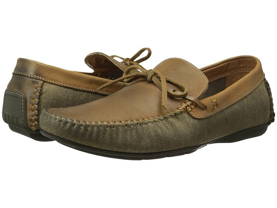 Steve Madden - Alffa (Cognac Leather) Men's Slip on Shoes