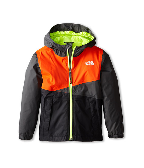 The North Face Kids - Tavoy Lined Rain Jacket 15 (Little Kids/Big Kids) (Graphite Grey) Boy