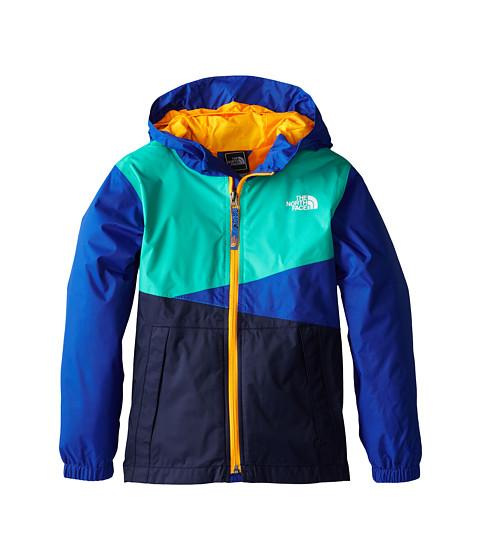The North Face Kids - Tavoy Lined Rain Jacket 15 (Little Kids/Big Kids) (Monster Blue) Boy's Coat