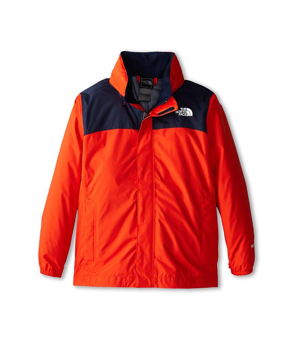 The North Face Kids - Resolve Reflective Jacket (Little Kids/Big Kids) (Acrylic Orange) Boy's Coat