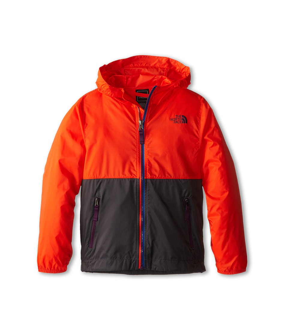 The North Face Kids - Flurry Wind Hoodie 15 (Little Kid/Big Kid) (Acrylic Orange) Boy's Sweatshirt