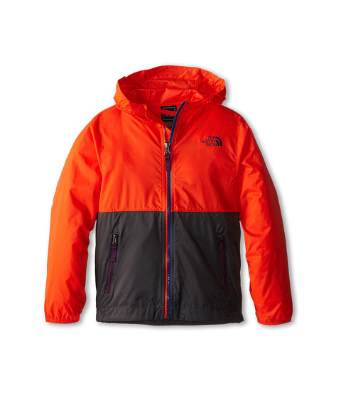 The North Face Kids - Flurry Wind Hoodie 15 (Little Kid/Big Kid) (Acrylic Orange) Boy