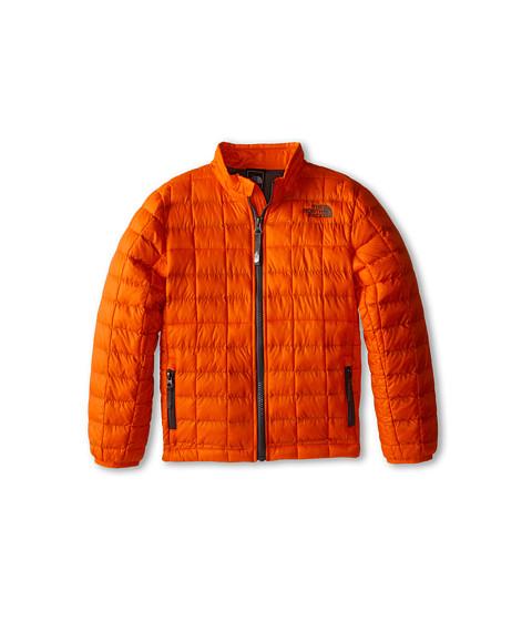 The North Face Kids - Thermoball Full Zip Jacket (Little Kids/Big Kids) (Acrylic Orange) Boy's Coat
