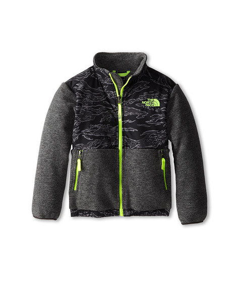 The North Face Kids - Denali Jacket (Little Kids/Big Kids) (Recycled Charcoal Grey Heather) Boy's Coat