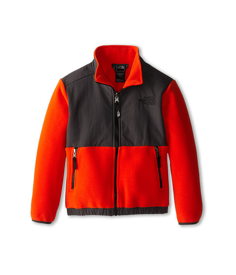 The North Face Kids - Denali Jacket (Little Kids/Big Kids) (Recycled Acrylic Orange) Boy