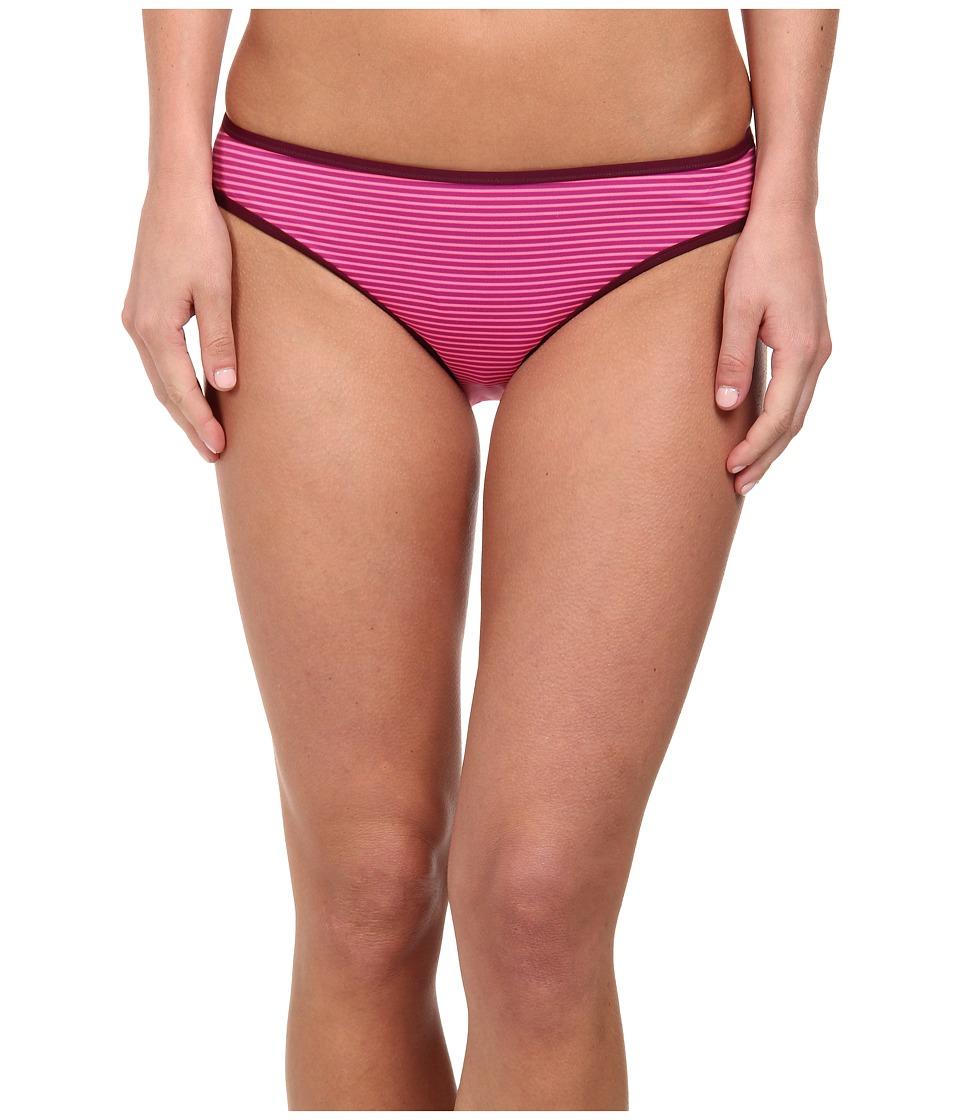 Carve Designs - Janie Reversible Bikini Bottom (Hibiscus Tides/Hibiscus) Women's Swimwear