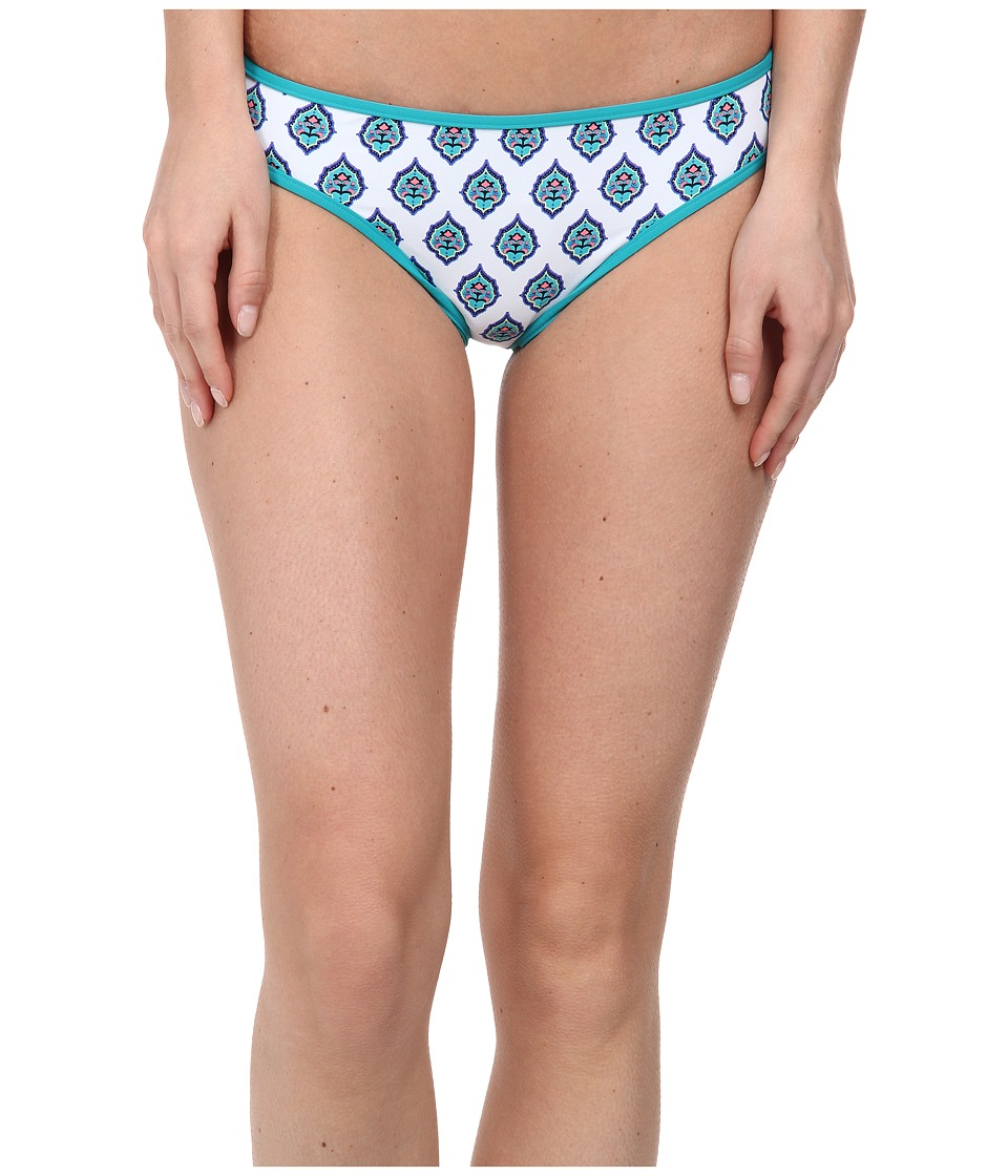 Carve Designs - Janie Reversible Bikini Bottom (Riviera/Jade) Women's Swimwear