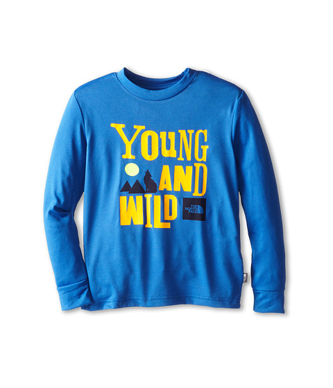The North Face Kids - Markhor Hike L/S Tee (Little Kid/Big Kid) (Monster Blue) Boy