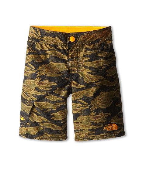 The North Face Kids - Markhor Hike/Water Short 15 (Little Kid/Big Kid) (Army Green Tiger Camo Print) Boy