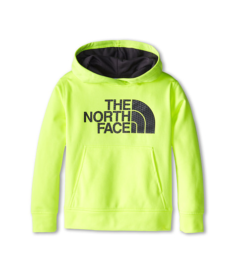 The North Face Kids - NFP Surgent Logo Hoodie 15 (Little Kid/Big Kid) (Dayglo Yellow) Boy