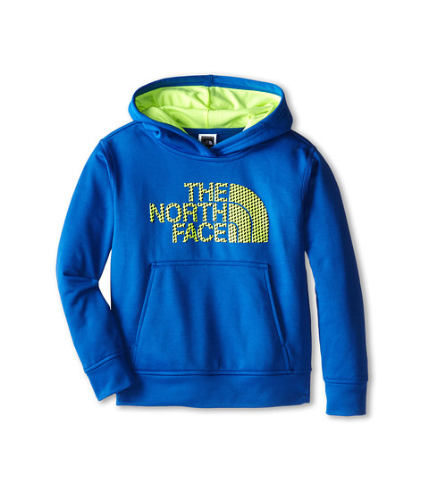 The North Face Kids - NFP Surgent Logo Hoodie 15 (Little Kid/Big Kid) (Monster Blue) Boy