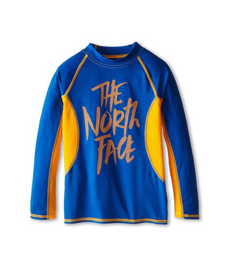 The North Face Kids - L/S Dogpatch Rash Guard 15 (Little Kid/Big Kid) (Monster Blue) Boy
