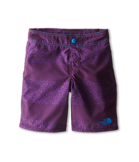 The North Face Kids - Dogpatch Print Water Short 15 (Little Kid/Big Kid) (Black Currant Purple) Boy