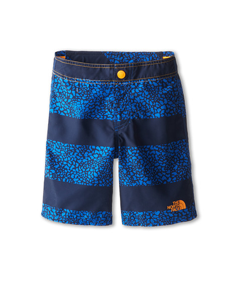 The North Face Kids - Dogpatch Print Water Short 15 (Little Kid/Big Kid) (Monster Blue) Boy's Shorts
