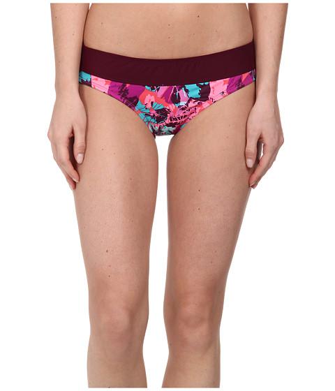 Carve Designs - Catalina Bottom (Tahiti w/ Plum) Women's Swimwear