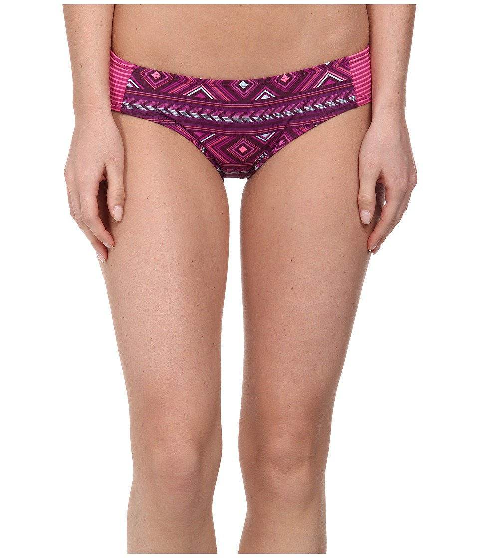 Carve Designs - Bolinas Bottom (Plum Bali w/ Hibiscus Tides) Women