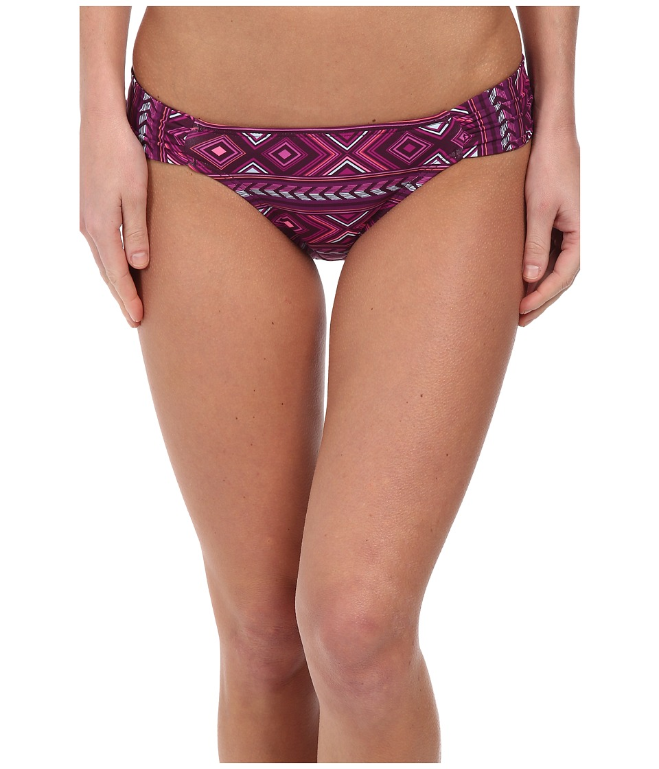 Carve Designs - Cardiff Bottom (Plum Bali) Women's Swimwear